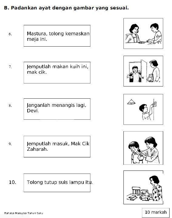Gambar Mewarna Untuk Tahun 1 Bernilai Latihan Bahasa Malaysia Tahun 1 Google Search Bm Thn 1
