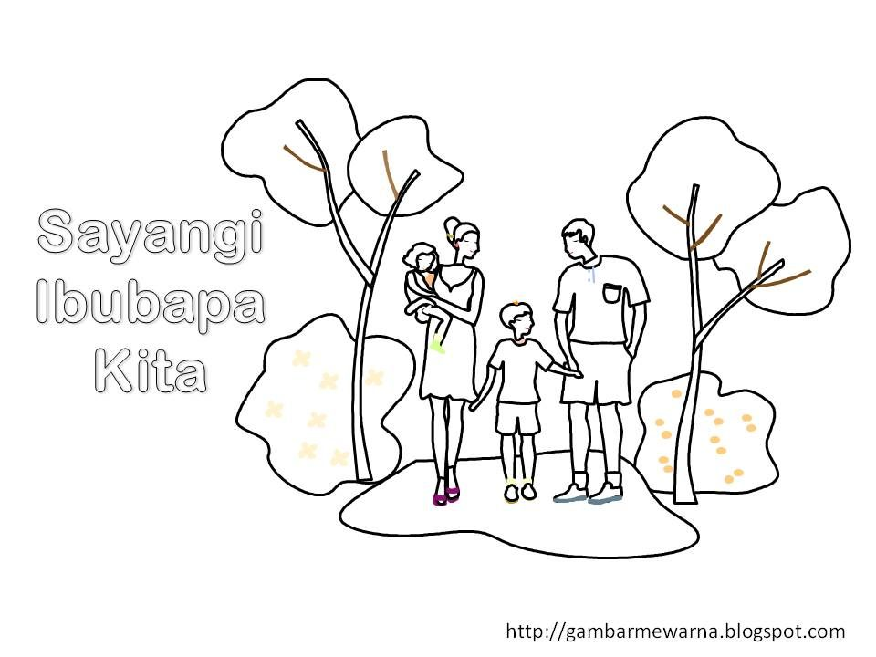 Gambar Pertandingan Mewarna Hari Keluarga Meletup Poster Mewarna Hari Keluarga Brad Erva Doce Info