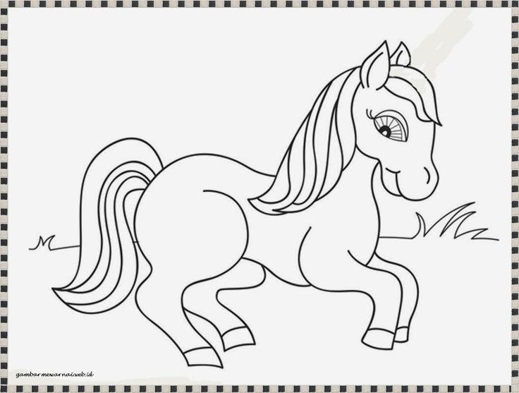 Dapatkan Pelbagai Contoh Gambar Pony Untuk Mewarna Yang Awesome