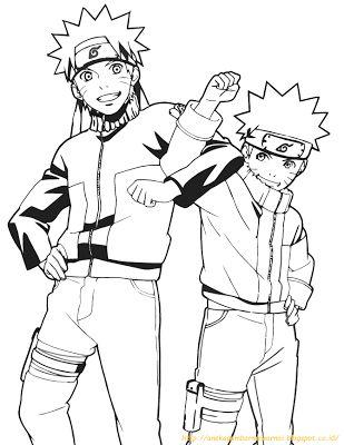 Gambar Rumah Mewarna Bermanfaat Aneka Gambar Mewarnai 10 Gambar Mewarnai Naruto Untuk Anak Paud