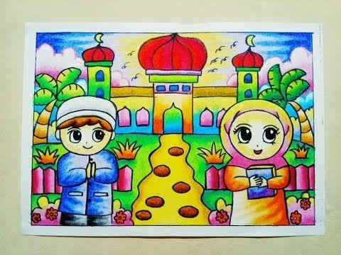 Jom Download Pelbagai Contoh Gambar Untuk Mewarna Bulan Ramadhan