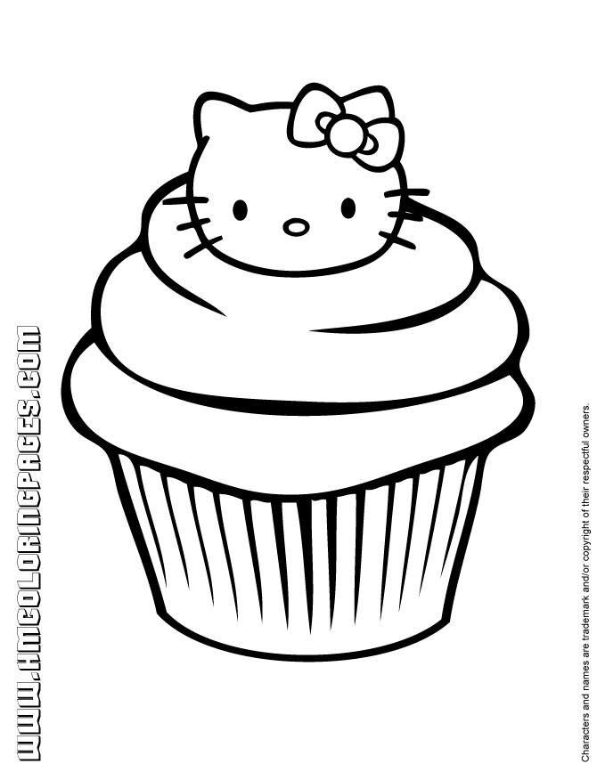 Muat Turun Bermacam Contoh Gambar Untuk Mewarna Hello Kitty Yang