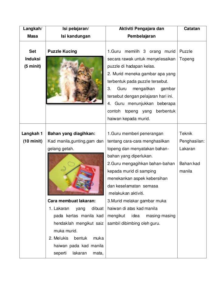 Gambar Untuk Mewarna Tahun 3 Berguna Contoh Rancangan Pengajaran Harian Pendidikan Seni Visual Tahun 3
