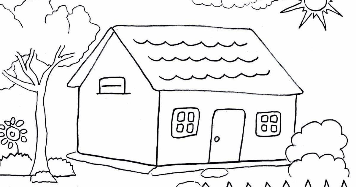4300 Gambar Rumah Kartun Mewarnai Terbaru