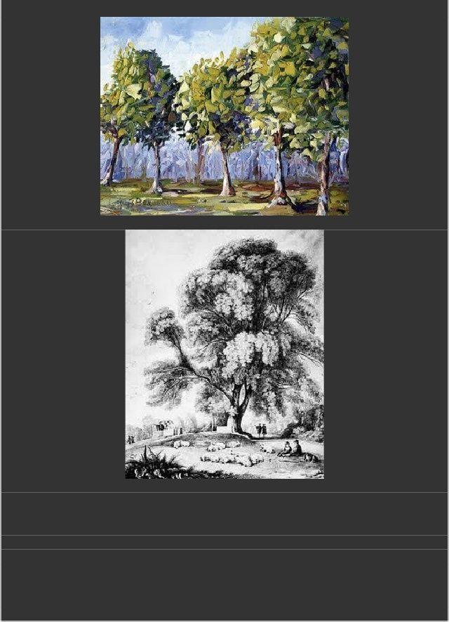 melukis struktur pokok mengenal pasti jenis pokok yang hendak dilukis danmenghasilkan lakaran ringkas struktur batang dan ranting dengan mengunakanpensel