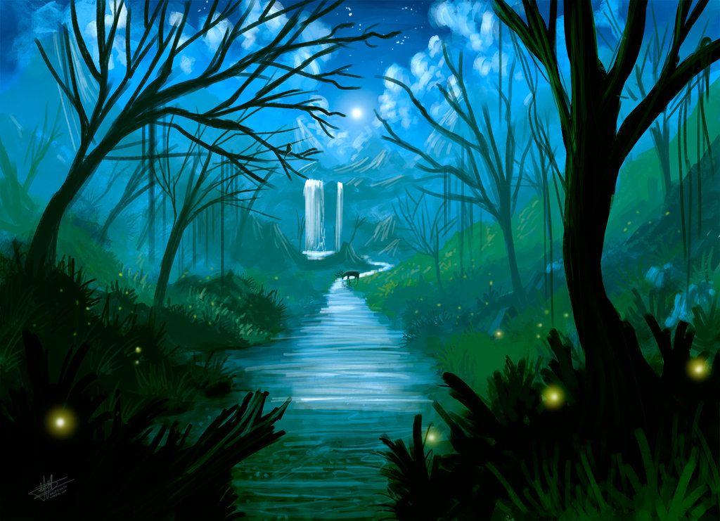 Kertas Mewarna Pokok Terbaik Psv Kertas 2 Spm Pemandangan Sungai Di Dalam Hutan