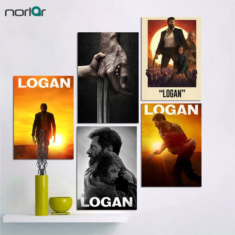 the wolverine 3 logan art poster movie film fosters and print canvas print art wall decor