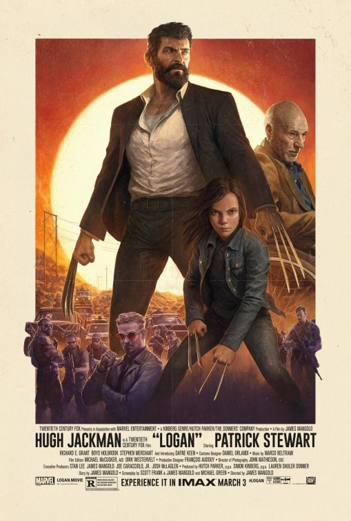 Logan Poster Penting Click to View Extra Large Poster Image for Logan Key Art