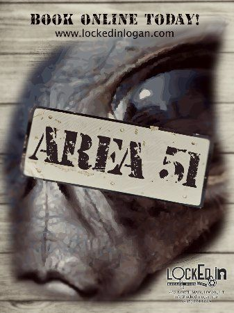 locked in escape room logan area 51 can you find proof of alien