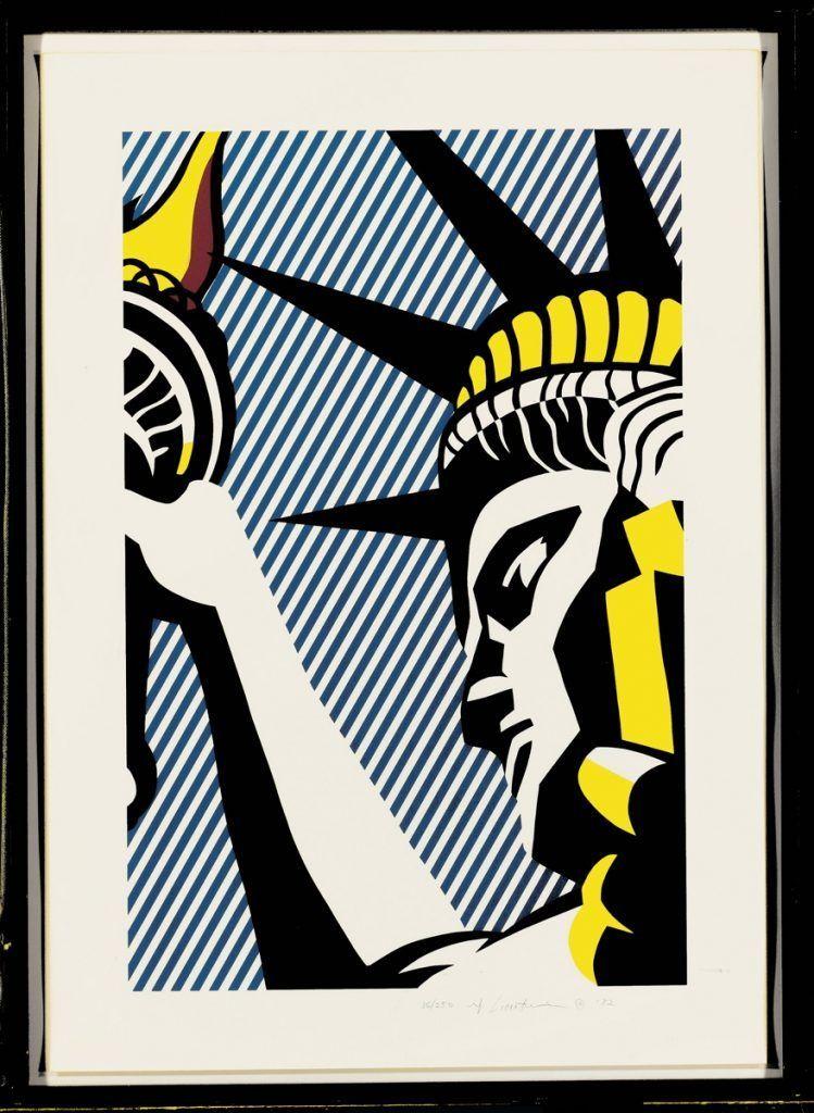 i love liberty roy lichtenstein
