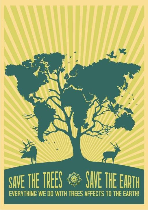 save the earth poster art google search