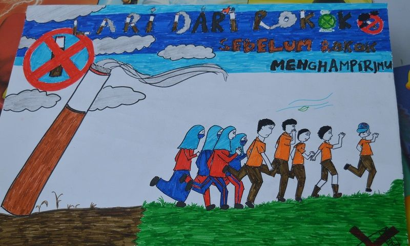 Poster Anti Narkoba Untuk Pelajar Bernilai Akhmad Husaini Karya Poster Anti Rokok Pelajar Hss