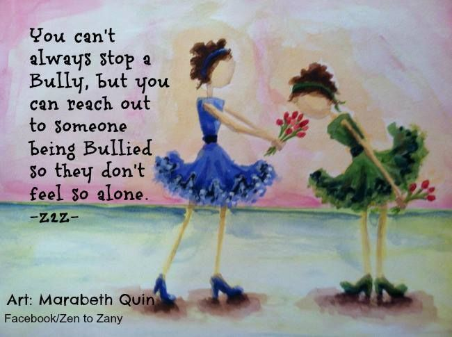reach out to people being bullied the hope campaign marabeth quin art