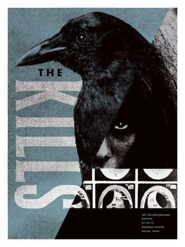 Poster Gigi Bermanfaat Best Poster Kills Concert Aesthetic Images On Designspiration