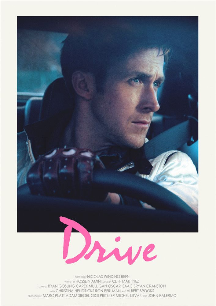 Poster Gigi Penting Drive Ryan Gosling Posters Movie White Coated Paper Prints High