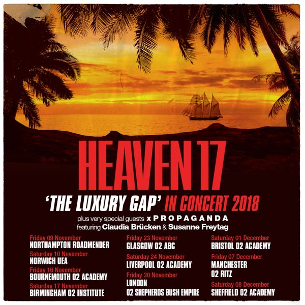 Poster Go Green Baik News Heaven 17