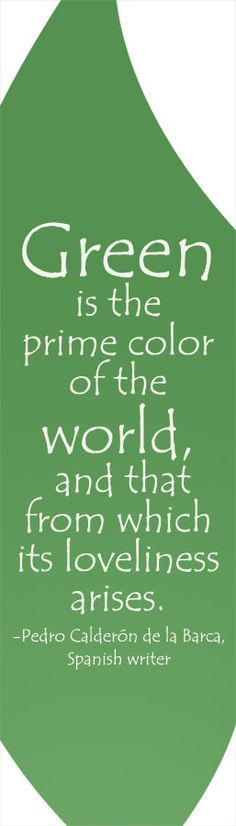 green is the color of the world green color quotes go green quotes pink