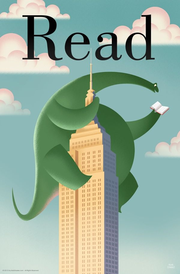 brontosaurus read poster posters products for children ala store