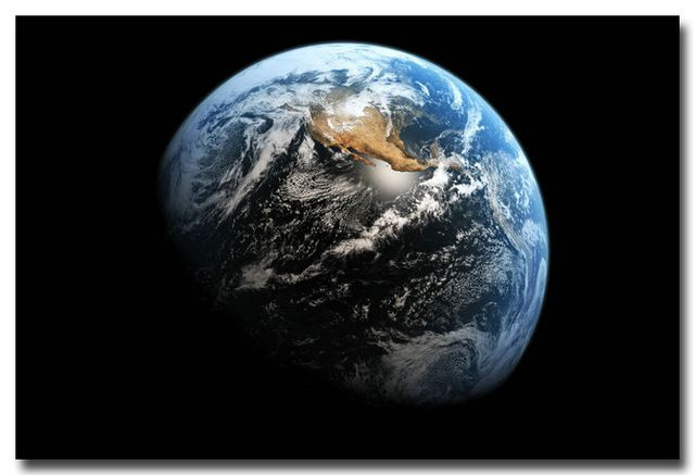 nicoleshenting bumi milky way galaxy ruang bintang nebula art silk dinding poster print universe gambar