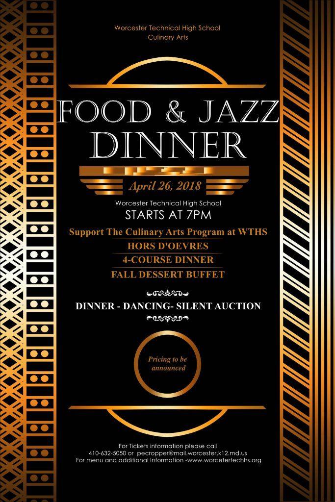 Poster Kartini Terhebat Jazz Dinner Poster Temp 2018 Worcester Technical High School