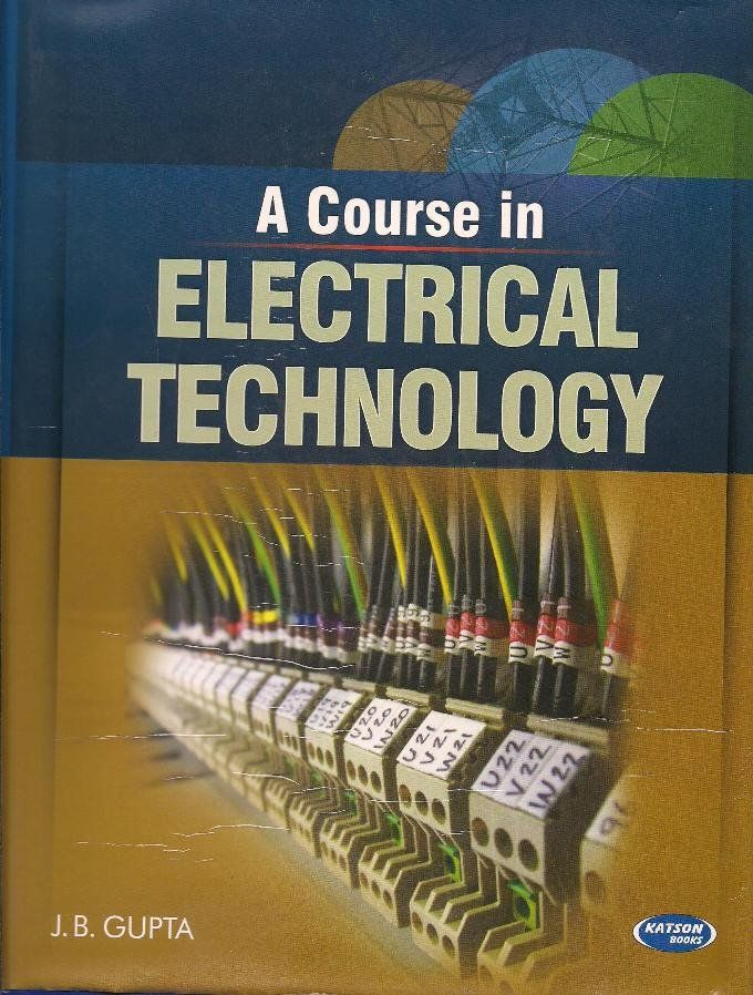 Poster Kb Berguna Course In Electrical Technology Kb Text Book Centre