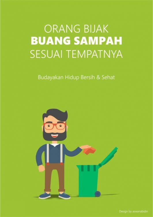 102 contoh poster slogan pendidikan lingkungan