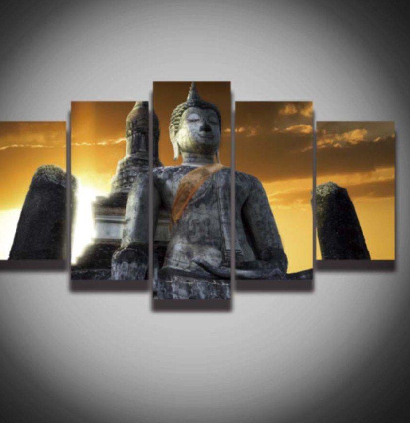 Poster Kesehatan Gigi Hebat A Dicetak Buddha Gambar Poster Kanvas Lukisan Modern Wall Art Decor