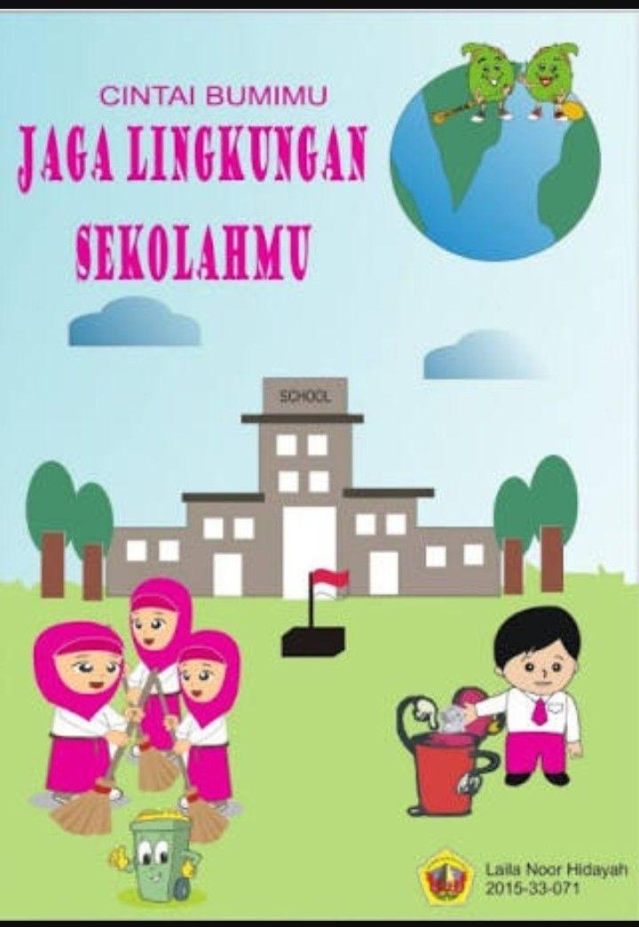 Download Cepat Himpunan Contoh Poster Lingkungan Sekolah