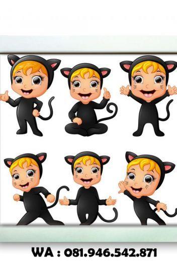 Poster Mewarna Kucing Terbaik 081 946 542 871 Wallpaper Poster Dinding Poster Kucing Comel