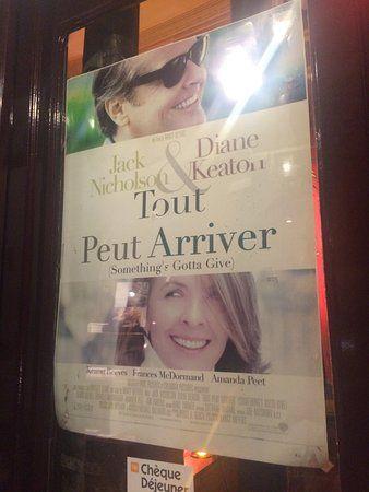 le grand colbert movie poster that hangs in the doorway