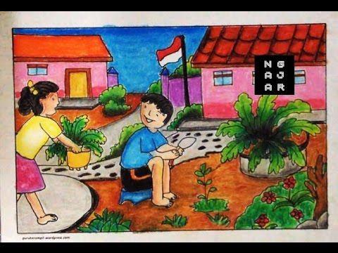 72+ Gambar Pemandangan Buat Anak Sd Kekinian