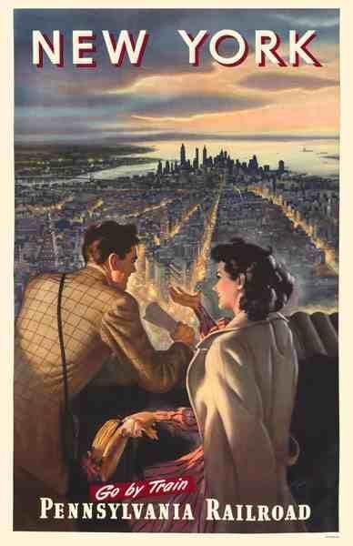 Poster Retro Menarik Poster Pennsylvania Rr Love Love N Y Pinterest