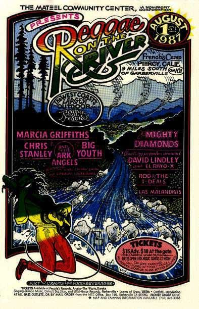Poster Sekolah Meletup Rotr Posters Reggae On the River Festival