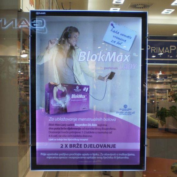 Poster Tentang Hemat Energi Terhebat Acrylic Kristal Poster Display Papan Dipimpin Iklan Lampu Kotak Di