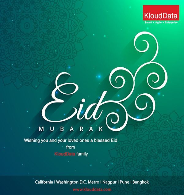 a festival of peace bonding and prayers eid mubarak to all from team klouddata eidmubarak happyeid ramadan celebrations prayers peace