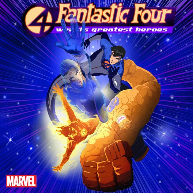 Save Earth Poster Menarik Fantastic Four World S Greatest Heroes the Complete First Season