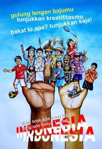 Sumpah Pemuda Poster Bermanfaat Lomba Desain Poster Sumpah Pemuda 2013 Untuk Slta