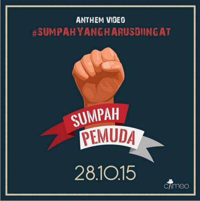 Sumpah Pemuda Poster Bermanfaat Untuksumpahyangdilupakan 1 Pembakar Semangat Pemuda Indonesia