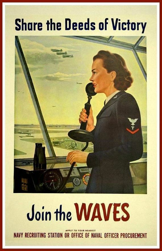 wwii navy recruitment poster