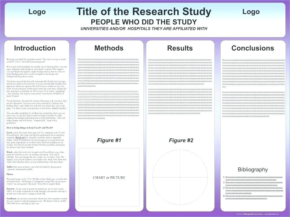 free a1 research poster template size full size