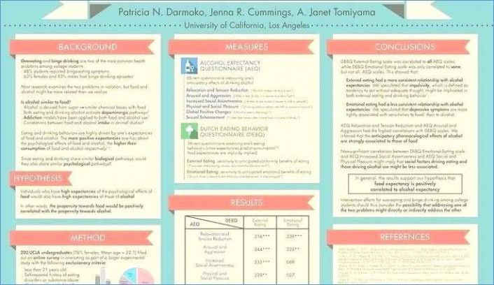 template scientific poster template powerpoint a e a portrait presentation free download