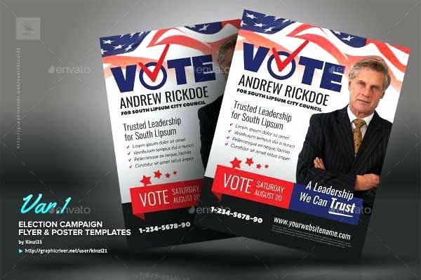 campaign poster template free new campaign poster templates free