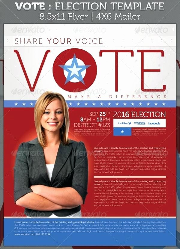 Election Poster Power Political Flyer Template Free Elegant Election Poster Template New