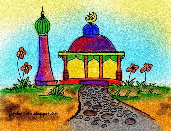 Gambar Apel Untuk Mewarna Bermanfaat Contoh Gambar Mewarnai Masjid Gambar Mewarnai