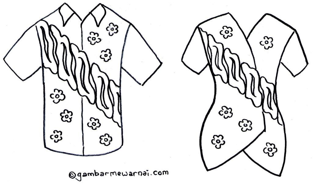 Link Download Himpunan Contoh Gambar Mewarna Baju Yang Power Dan