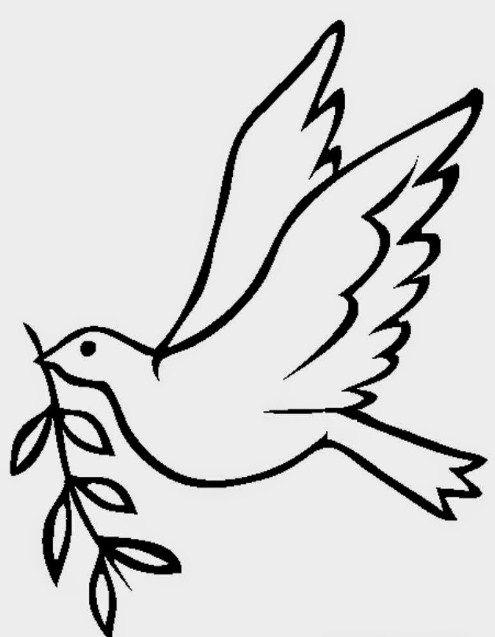 Gambar Mewarna Burung Merpati Bernilai Mewarnai Gambar Burung Merpati Wallpaper Keren