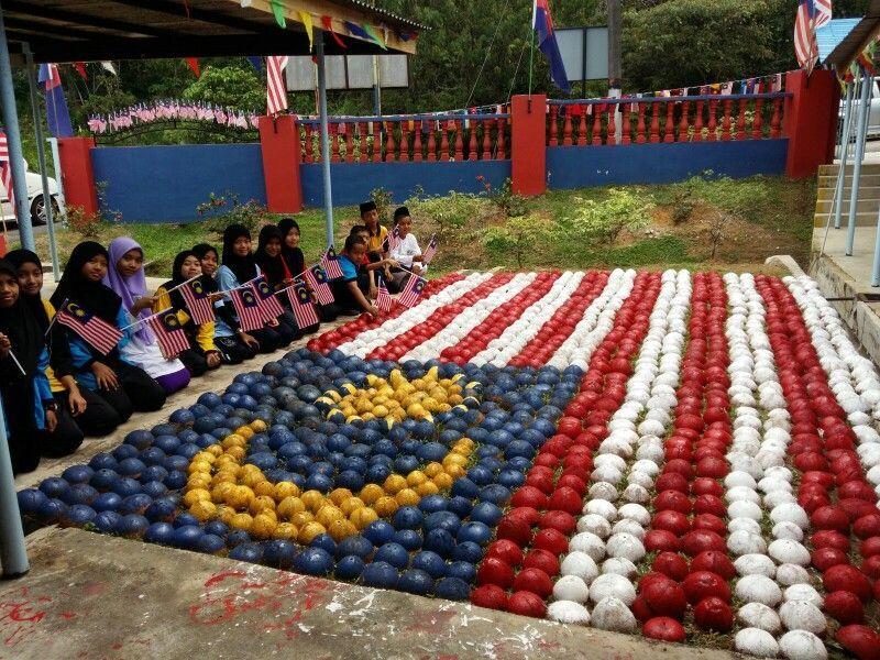 Gambar Mewarna Hari Kemerdekaan 2018 Sayangi Malaysiaku Bermanfaat Patriotik Hari Kebangsaan