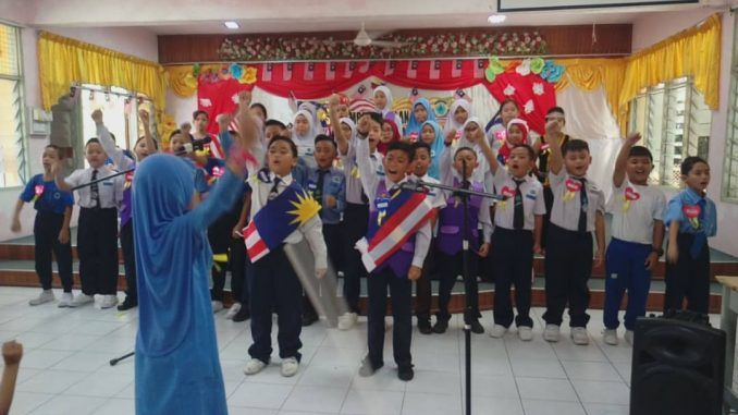 18 september 2018 labuan tahun 2018 sk tanjung aru telah mengadakan majlis penutupan hari kemerdekaan bertempat di dewan sri tanjung