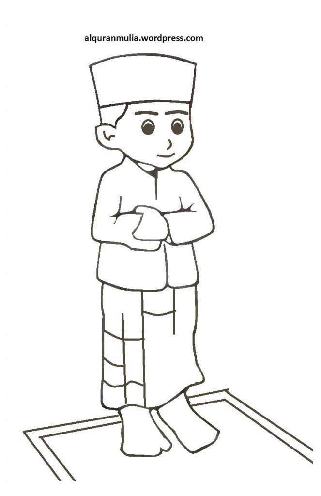 Download Pelbagai Contoh Gambar Mewarna Kartun islam Yang Berguna