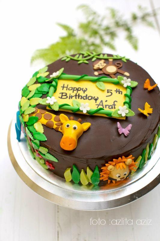 Gambar Mewarna Kek Berguna Birthday Kek Kanak Kanak Masam Manis